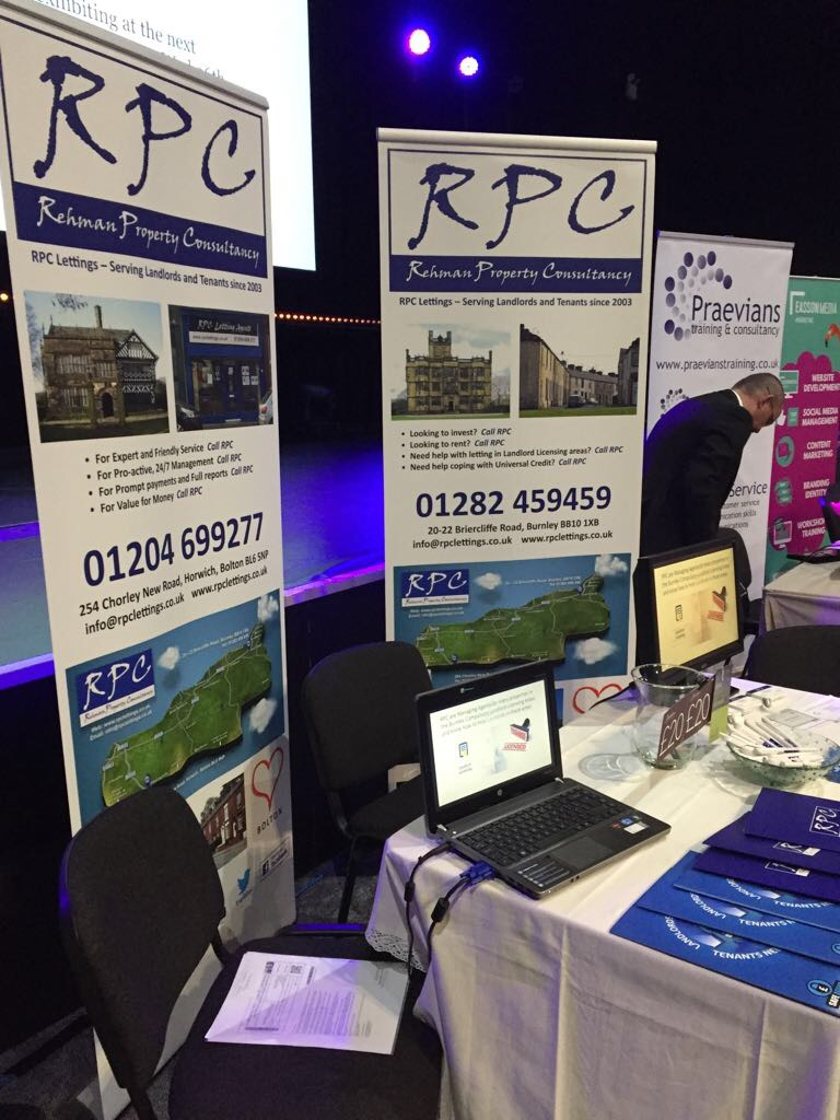 RPC exhibitioin stand at Love Local